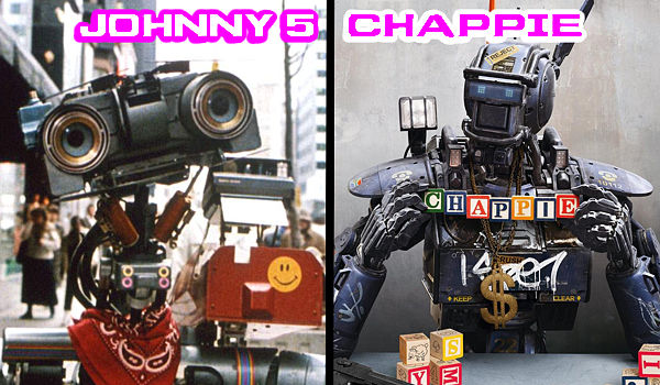 Chappie Vs Johnny 5