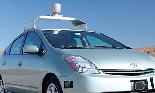 Google coches sin conductor