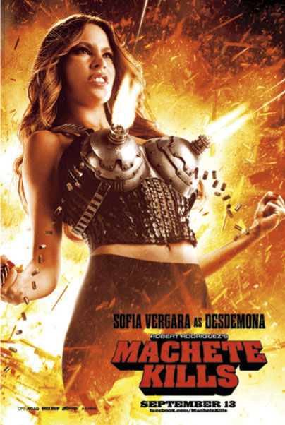 Machete Kills: Sofia Vergara Poster